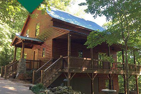 Log Home after Restoration